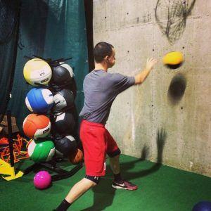 medicine ball pitching velocity