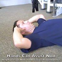 Chin Tuck Chin Nod Exercise