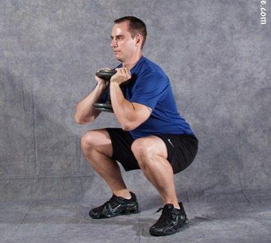 customized squat pattern