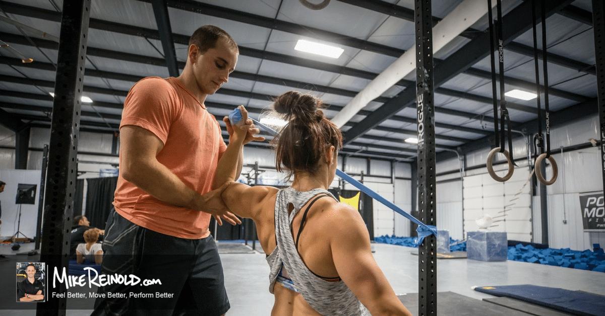 treating shoulder injury