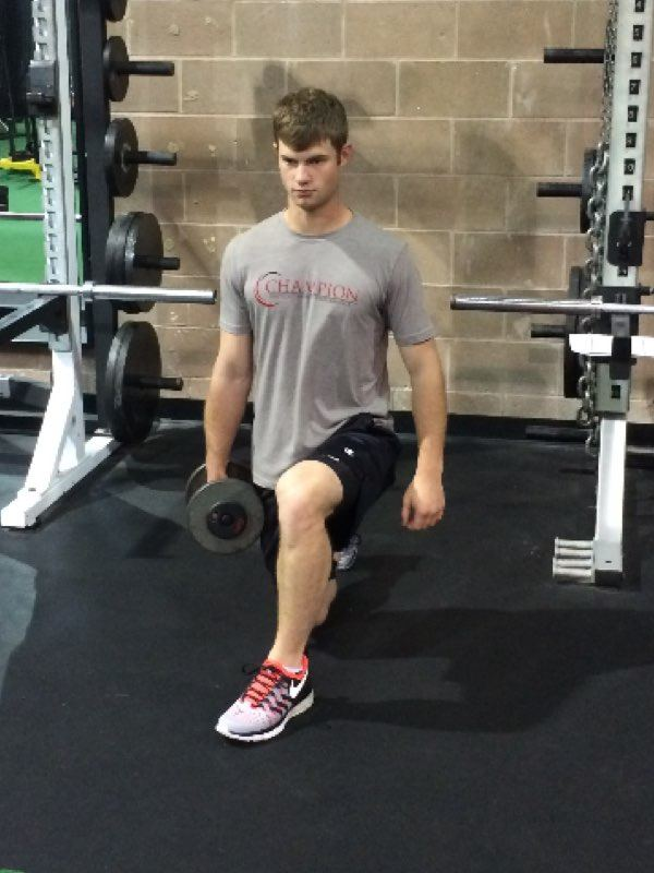 The Effect of Ipsilateral and Contralateral Loading on Muscle Activity During the Lunge