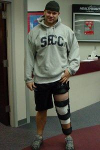 meniscus repair surgery weightbearing