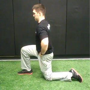 true hip flexor stretch